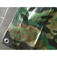 Buy quality camouflage pe tarpaulin,outdoor cover poly tarp, tent cover fabric tarpaulin at wholesale prices