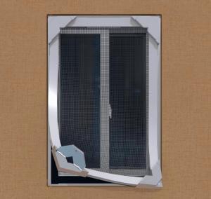 Buy cheap New design portable Fiberglass DIY magnetic fly screens windows product