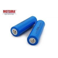 Buy cheap 3.7 V 18650 Lithium Ion Battery 2600mah , MSDS Rechargeable Battery For Remote Car product