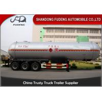 Buy cheap 55 Cubic LPG Tank Trailer  Medium Pressure Round Shape Steel Tank Body product