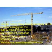 Buy quality TCP7013-10 10 tons 200m Q345B Steel China Topless Tower Crane Manufacturer For Construction at wholesale prices