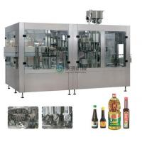 Buy cheap Rotary Piston Type vegetable oil filling machine Auto 3000BPH / 1000ml product
