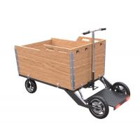 Buy cheap 355mm Rear Wheel Integrated 500KG Electric Cargo Tricycle product