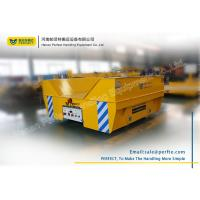 Large Load Battery Rail Transfer Cart , Electric Copper Trolley For Steel