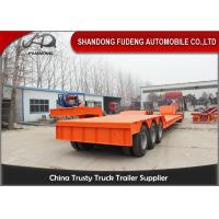 Buy cheap Front Loading lowboy Trailer 80 -100 Tons carry heavy equipment product