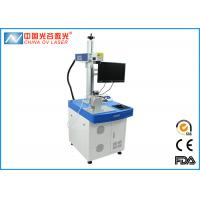 Buy cheap 20watts 30watts Mini Table Fiber Laser Marker with Desk for Printing Logos on Metal product