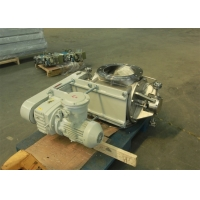 Buy cheap Dust Discharging Star Shape DN100 Rotary Valve With Oil Seal product