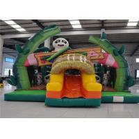 Buy cheap Colorful Inflatable Jump House , Kids Blow Up House Attractive Puncture Proof product