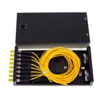 Buy cheap SC FC ST LC 8 Port Enterprise Security Network ODF Terminal Box 8 Adapters And Pigtails product