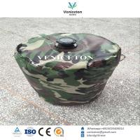 Buy cheap Portable foldable camping water storage drum for outdoor  emergency water storage tank product