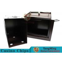 Buy cheap Luxury Double Lock Cash Holder Box , High Precision Security Casino Cash Box product
