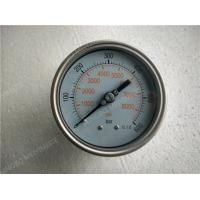 Buy cheap 4 Inch 100mm All Stainless Steel Liquid Pressure Gauge with Shrink Bezel product