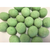 Delicious Coated Roasted Round Peanuts With Green Wasabi Flavor Hot Sell Kosher products for sale