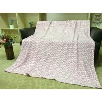 Buy cheap Colored Lightweight Flannel Blanket , Soft Printed 100 Polyester Throw Blanket product