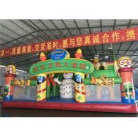 Buy cheap Interactive Inflatable Play Place , Inflatable Kids Playground Water Spray Colorful product