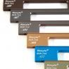 80mm Aluminum Kitchen Wardrobe Handles for sale