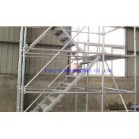 Buy cheap Frame Galvanized Scaffolding Tube , GI Steel Scaffold Pipe Quality Of Q195, Q235, Q345 product