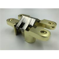 Buy cheap Gold Plated Heavy Duty Hidden Closet Door Hinges With CNAS MA AL Certificate product