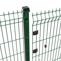 Buy cheap Galvanized And Powder Coated Wire Mesh Fencing Of 3D Welded Wire Mesh Panel product
