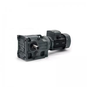Buy cheap Hollow Shaft Output Ratio 1/5 Bevel Gear Gearbox Helical Speed Reducer product