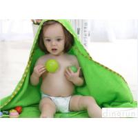 Buy cheap Professional Green Color Baby Hooded Towels With Animal Hood 90*90cm product