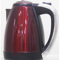 Buy quality Stainless Steel Red Electric Water Boiler Kettle / Portable Electric Kettle at wholesale prices
