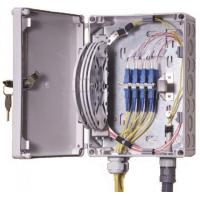 Buy cheap IP55 OF Indoor / Outdoor Fiber Termination Box ,8 Fibers Small Optical Termination Box product