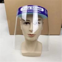 Buy cheap Double sided  PET Splash Face Shield , Face Shield Medical Use CE FDA Certification product