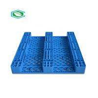 HDPE Reinforced Plastic Pallets 3 Skid Runners Recycled Sturdy Construction