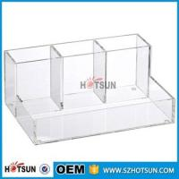 Buy cheap wholesale Desk Stationery With Pen Holder acrylic Office Desk Organizer product