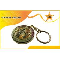 Buy quality Antique Plating Metal Promotional Key Chains For Souvenir Gift at wholesale prices