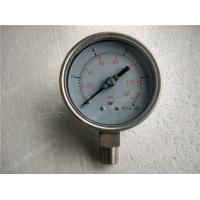 Buy cheap 100mm  All Stainless Steel Pressure Gauge with Welding Connection product
