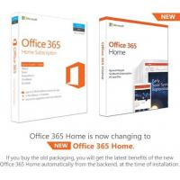 Buy cheap Windows 10 Microsoft Office 365 Home Product Key / Office 365 Home License Key product