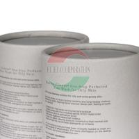 Buy cheap Luxury Rolled Edge Paper Cardboard Cylinder Packaging Eco Freindly from wholesalers
