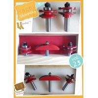 """Buy cheap Rail & Stile With Raised Panel Bit Router Bit Set - Ogee - 1/2"""" Shank product"""