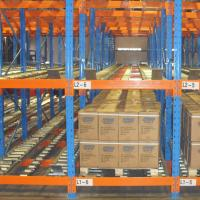 Quality Warehouse Inventory Pallet Live Racking Steel Material Customized Color for sale