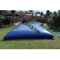 Buy cheap collapsible soft PVC  20000L water storage tank for swimming pool water treatment in south African product