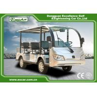 Buy cheap Durable 72V 7.5KM Electric Sightseeing Car With Storage Basket Climbing Capacity from wholesalers