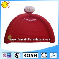 Red 4 Legs Inflatable Tent Popular Inflatable Yard Tent Sewed