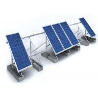 Buy cheap 1.4KN/M2 Solar Panel Roof Mounting Systems Customized Color Aluminum Stainless Steel Structure product