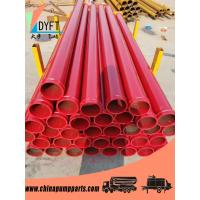 China ST52 DN125 Concrete Pump Pipe with 148mm SK flange for concrete pump truck/trailer on sale