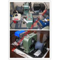 Buy cheap Cable pulling winch, cable puller,Cable Drum Winch product