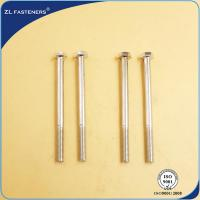 Buy cheap Professional Brass Hex Head Bolts , Din 931 8.8 Bolts Carbon Steel Material product