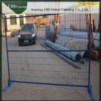 Buy cheap Popular Canada Temporary Fence Barricade , Safety Temporary Site Fencing product