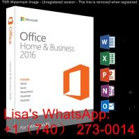Buy cheap Ms Office 2016 Home And Business , Microsoft Home And Business 2016 product