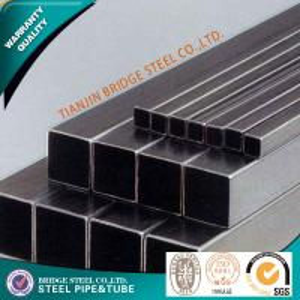 Buy cheap ASTM A53 Square Steel Pipe , BS JIS GB ASME Rectangular Steel Tubing product