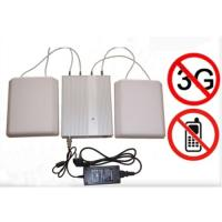 Buy cheap 5 Band Cellphone WIFI signal Jammer with Remote Control Directional Antennas product