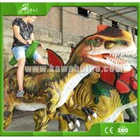 Buy cheap High quality Realistic Animatronic Walking Dinosaur for Kiddie Rides product