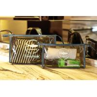 Buy cheap PVC Travel Kit Zipper Pouch Transparent Vinyl Make-up Pouch for Swimming and Beach product