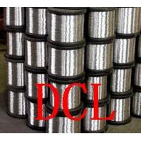 Buy cheap Galvanized Iron Wire, Stainless Steel Wire, Flat Wire (DCLWJZP02) product